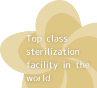 World standard sterilization facility